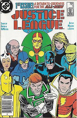 Justice League 1, 2 1987 Keith Giffen Kevin Macguire JM DeMatteis VF/NM