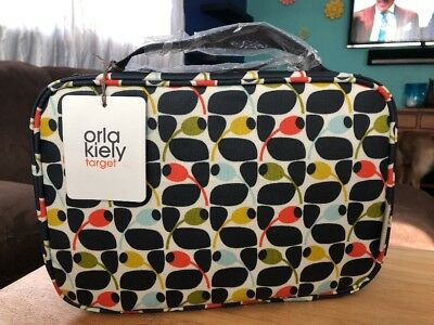 5e75d6d92d48 NWT ORLA KIELY for Target Olive Multi WEEKENDER Organizer Cosmetic BAG NEW!