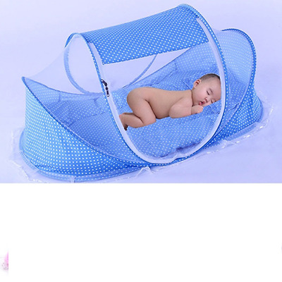 "Foldable Baby Travel Mosquito Net / Tent, 43"" x 26"" x 24"""