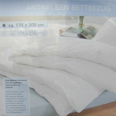 Bettbezug Antimilben 135x200 Cm Hausstaub Allergiker Sanitized
