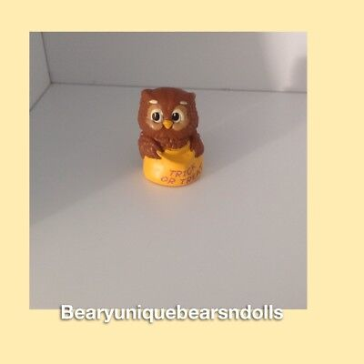 Hallmark Merry Miniatures Trick or Treat Owl * NEW