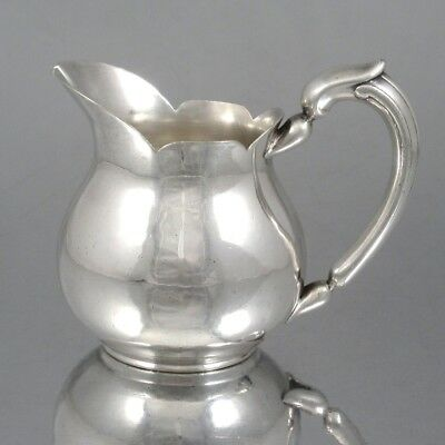 Antique French Christofle Silver Plate Cream Pitcher, French Line SS France 1912