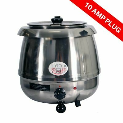 Oz Chef Soup Kettle 10L Commercial Quality