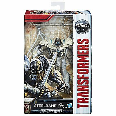 Transformers: The Last Knight Premier Edition Deluxe Steelbane Action Figure