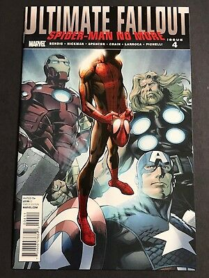 Ultimate Fallout #4 Marvel Avengers Spider-Man 1st App of Miles Moralas VF/NM