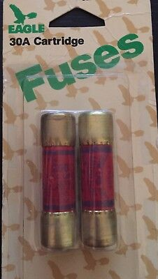 Eagle 30Amp Cartridge Fuses Package Of 2