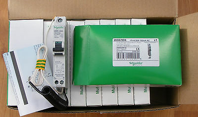 Schneider  20a 100mA RCBO ! New Boxed ! C60HC20R100-Multi 9  !! Free Postage !!