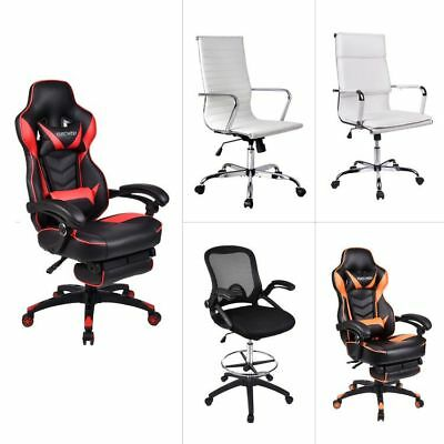 Racing Video Gaming Chair High-back Ergonomic Computer Office Desk Bucket Seat