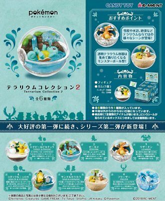 Pokemon Terrarium collection 2 Full compressed 6 pieces Japan