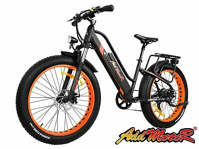 Addmotor MOTAN M-450 Electric Bike Bicycles 500W Fat Tires Fork Full Suspension