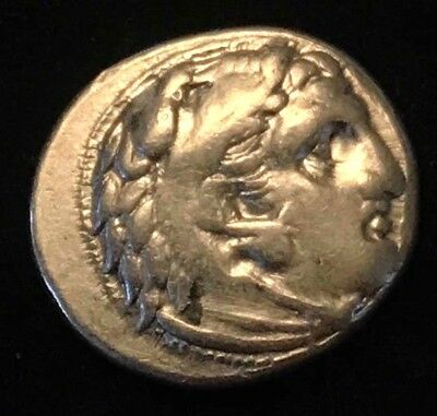 Ancient Greek Silver Coin Of Alexander The Great!! Sardes Mint; Rare!
