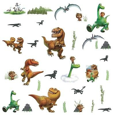 The Good Dinosaur Wall Decals Spot Butch Ramsey Nash Arlo Room Decor Stickers