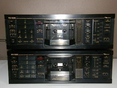 As Mint As You Get; Nakamichi Rx-505 Cassette Tape Deck