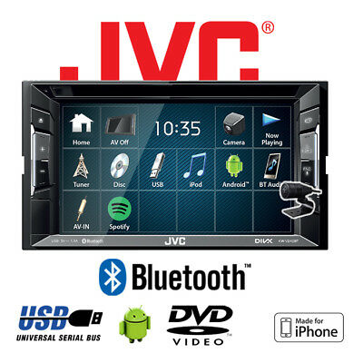 JVC KW-V240BT - DVD Bluetooth MP3 USB 2-DIN Autoradio KFZ Auto PKW Radio