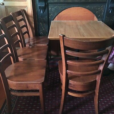High Quality Solid Wood Commercial Restaurant Chairs