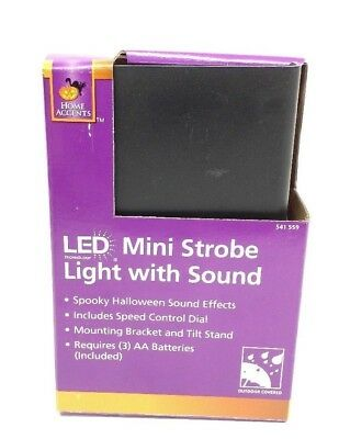 Mini LED Strobe Light with Creepy Halloween Sounds