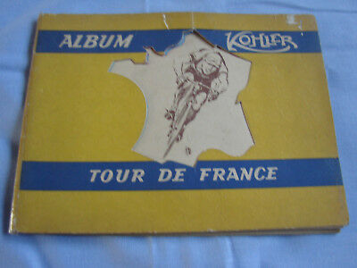 ANCIEN Album image chocolat KOHLER A CROQUER Cycliste TOUR DE France