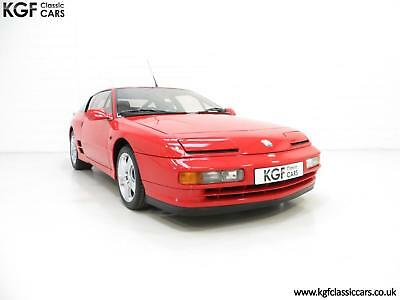 One Of Only 67 UK RHD Renault Alpine A610 Turbos with Just 2,901 Miles