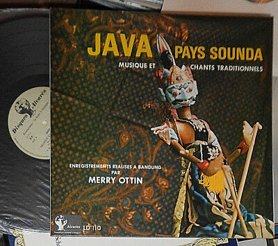 Merry Ottin Java Pays Sounda Lp (Java West Musik & Gesänge / Music & Chants)