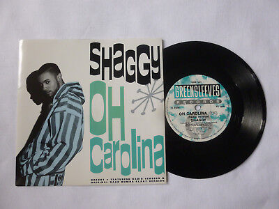 "Shaggy ~ Oh Carolina ~ Quality 1993 Uk Near Mint Ragga/hip Hop 7"" Vinyl Single"