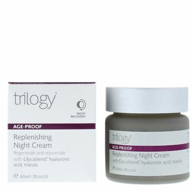 trilogy Age-Proof Replenishing Night Cream 60ml for Her Women's. New