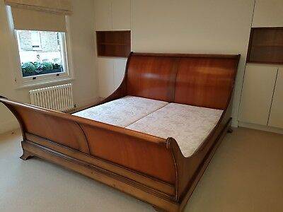 Original And So To Bed Superking Cezanne Wooden Sleigh Bed