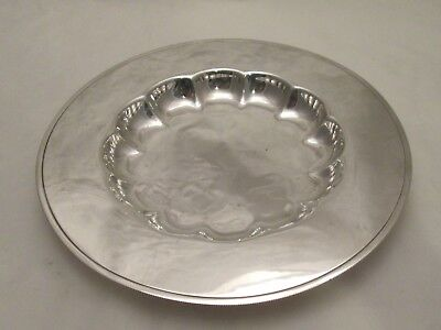 A Good 19th Century Silver Plated Dish / Platter / Bowl - Atkins Bros