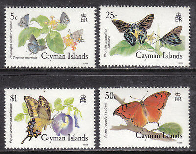 Cayman Islands #586-589, 1987 Set/4, Vf, Mint Nh