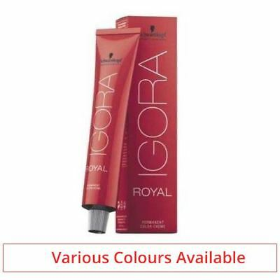 Schwarzkopf Igora Royal Hair Colour 60ml ALL COLOURS AVAILABLE