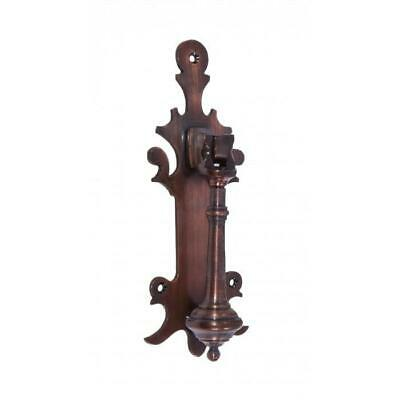 """Hounslow Park"" Antique Copper Door Knocker - Supplied With Fixings"