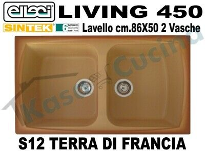 LAVELLO FRAGRANITE TERRA di Francia Elleci Living 450 cm.86X50 2 ...