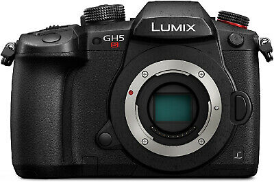 Panasonic LUMIX GH5s C4K 10.2MP MOS Wi-Fi + Bluetooth Mirrorless ILC Camera Body