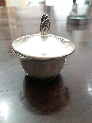 Tiffany & Co Makers Scatolina Sterling Vintage Rarissima Antique