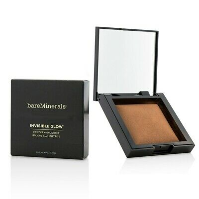 NEW BareMinerals Invisible Bronze Powder Bronzer - Dark To Deep 7g Womens Makeup
