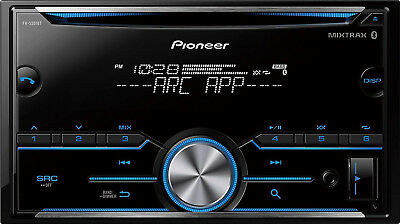 Pioneer FH-S501BT 2 DIN CD RDS Receiver with HD Radio and Built-In Bluetooth.