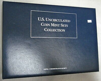 US Uncirculated Coins Mint Set Collection 67-92 Postal Comm Society 17 Panels