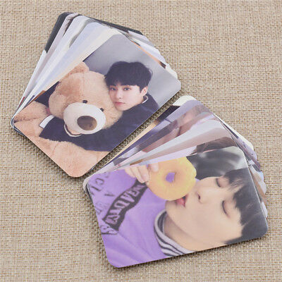 Kpop Star EXO Universe Winter Photocards Photo Album Fans Gifts Collection 8 Pcs