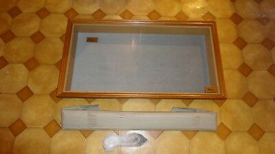 Wooden Wall Mounted Display Case Cabinet for 1/43 and 1/36 scale model cars