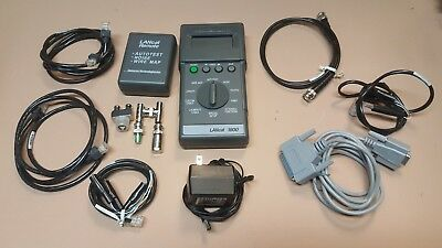 Datacom Technologies Inc. LANcat 1800 LAN tester bundle - UNTESTED (POWERS ON)