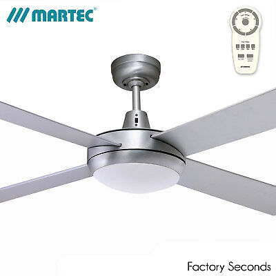 "Martec Lifestyle 52"" 1300mm DC Ceiling Fan with 24W LED Light and Remote"