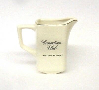 Canadian Club - Whiskey Collectible Pitcher.