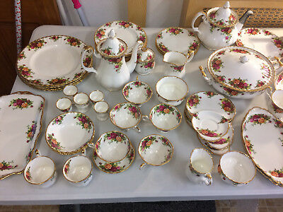 old country roses royal albert breakfast and tea ware