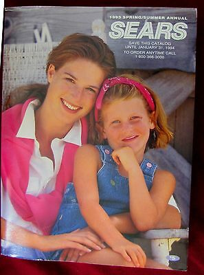 1993 SEARS Spring Summer Annual Catalog Collectible Final Issue
