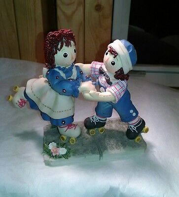 Raggedy Ann and Andy limited edition, retired figurine