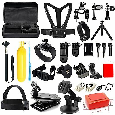 Soft Digits Accessories Kit for GoPro Hero 6 5 4 3+ Session Accessory Bundle Set