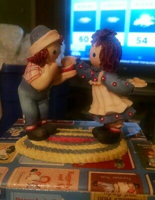 New in box Raggedy Ann and Andy limited edition figurine