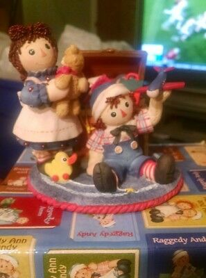 NIB Raggedy Ann and Andy limited edition figurine. This one is rare.
