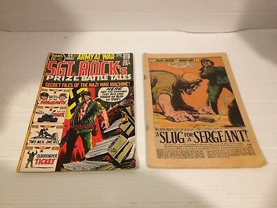 Sgt Rock Comics Secret Files Of Nazi War Machine 229 172 Slug