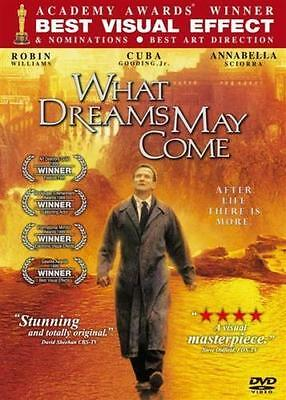 What Dreams May Come [DVD R0] (1998) Robin Williams, Great Bonus Extras!