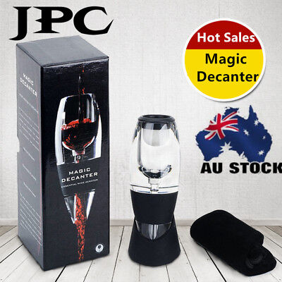 Mini Luxury Magic Crystal Red Wine Decanter Perfect Wine Gift Box